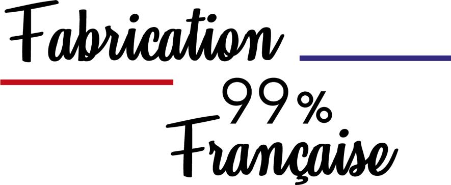 Fabrication française à 99%